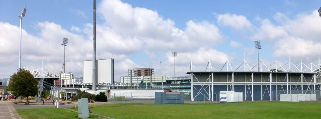 Aurora Stadium in the Inveresk Precinct
