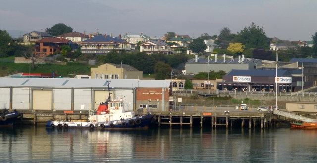 Departing Devonport