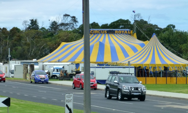 The circus was in Bairnsdale