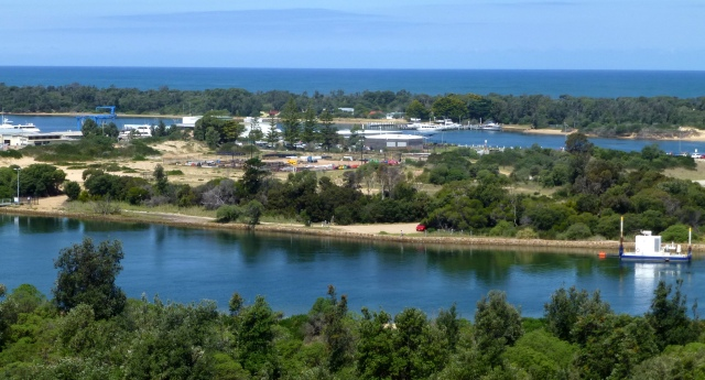 Lakes Entrance view